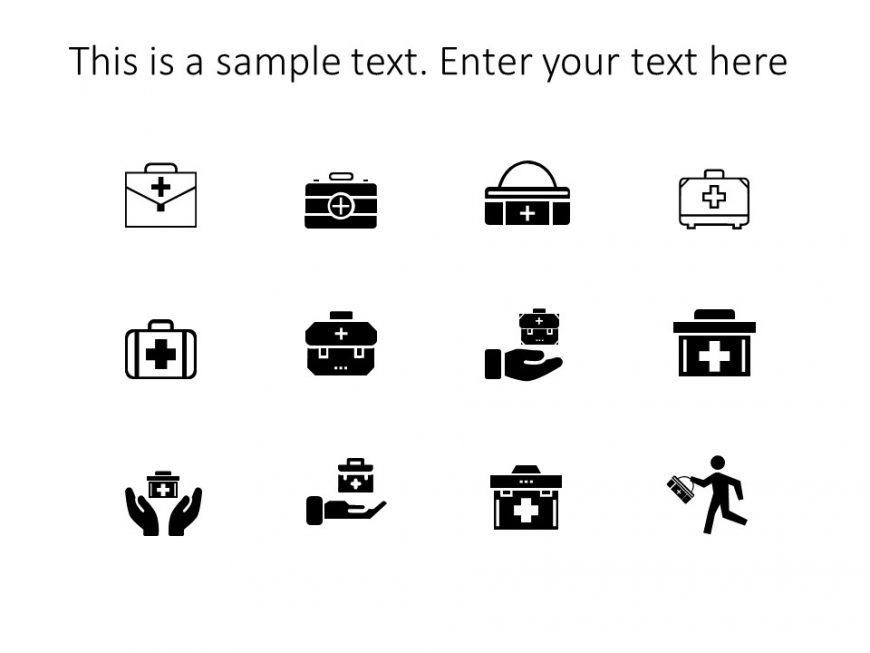 First Aid Kit Powerpoint Icons