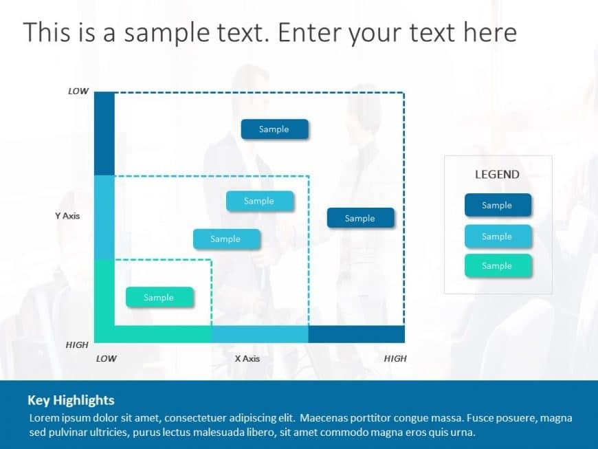 Market Analysis Graph Powerpoint Template