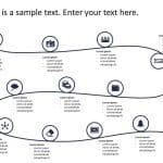 User Journey Roadmap PowerPoint Template