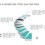Staircase Roadmap PowerPoint Template 1