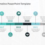 Timeline PowerPoint Template 54