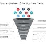 3D Funnel PowerPoint Template