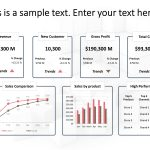 Business Review Dashboard PowerPoint 3