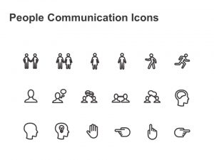 People Communication Marketing Powerpoint Icons