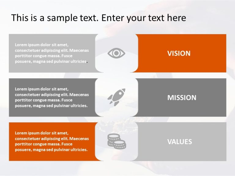 Mission Vision PowerPoint Template 6