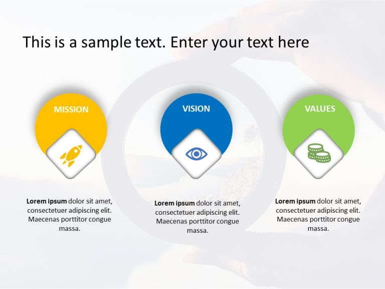 Mission Vision PowerPoint Template 17