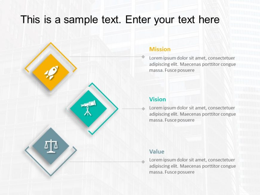 Mission Vision PowerPoint Template 25