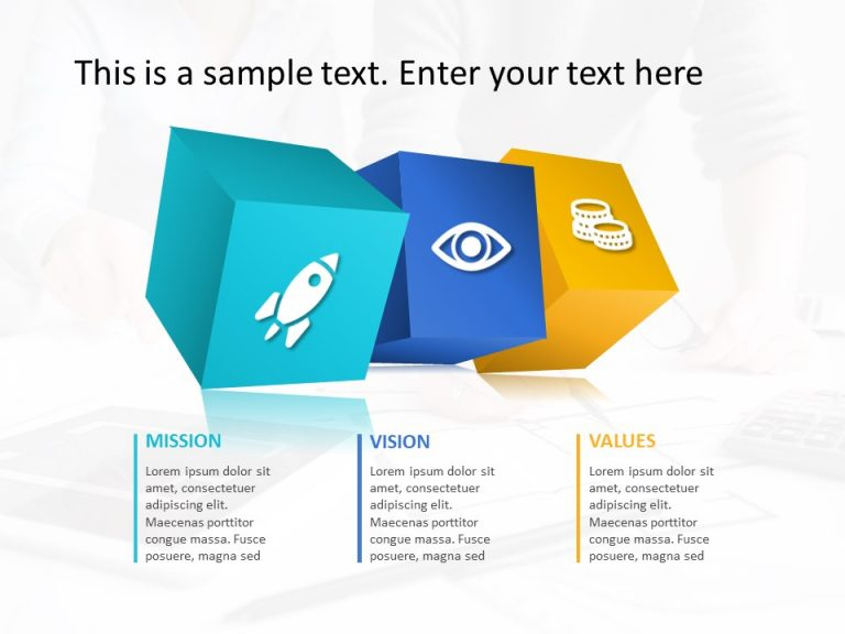 Mission Vision PowerPoint Template 26