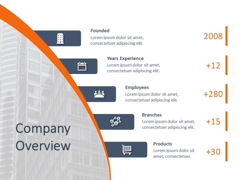 Company Overview PowerPoint Template 3