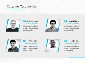 Customer Testimonial Powerpoint Template 10