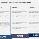 Product RoadMap PowerPoint Template 3