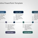 Timeline PowerPoint Template 100