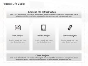 Project Management Lifecycle Powerpoint Template 3