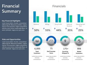 Financial Summary PowerPoint Template 5