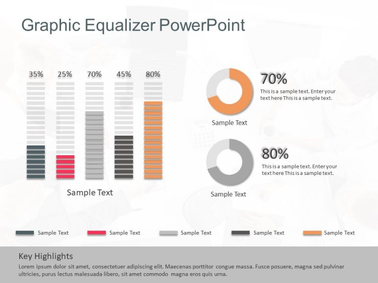 Graphic Equalizer Shapes For Powerpoint