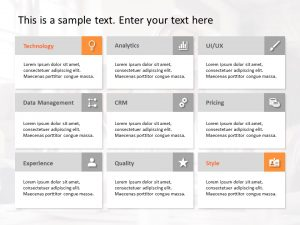 Product Features PowerPoint Template 26