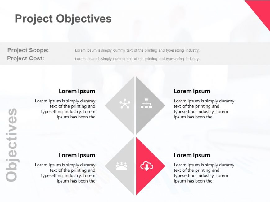 Project Goals Powerpoint Template