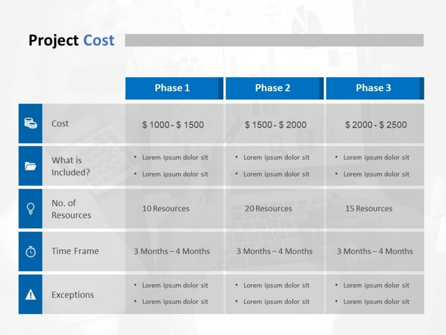 Pricing Model Powerpoint Template