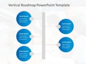 Vertical Roadmap PowerPoint Template