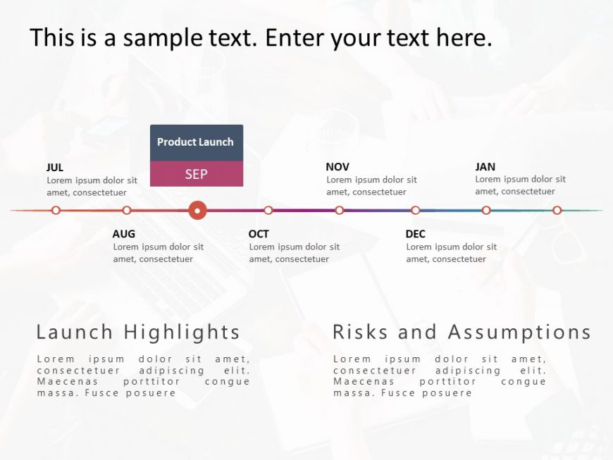 Product RoadMap PowerPoint Template 19