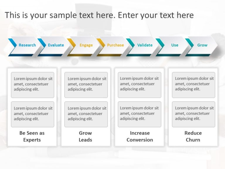 Product Strategy Chevron PowerPoint