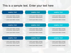 Box List PowerPoint Template 11