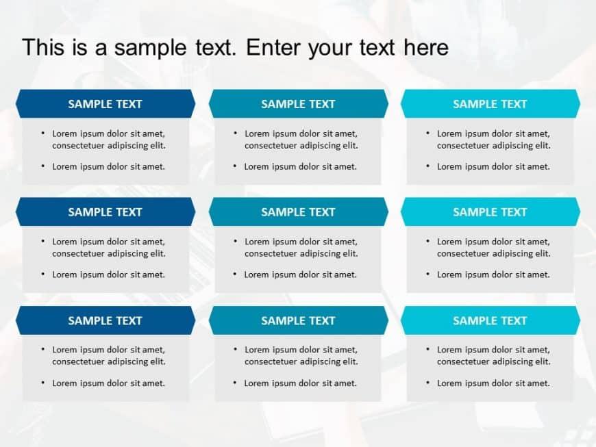 Box List PowerPoint Template 11