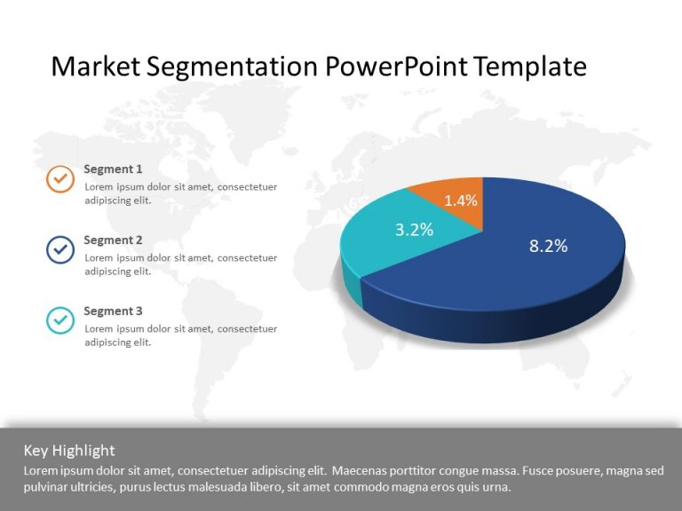 Market segmentation PowerPoint Template
