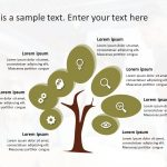 Tree Growth PowerPoint Template