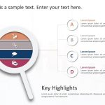 Lens Business Highlights PowerPoint