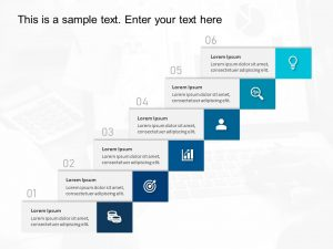 6 Steps Business Growth Template