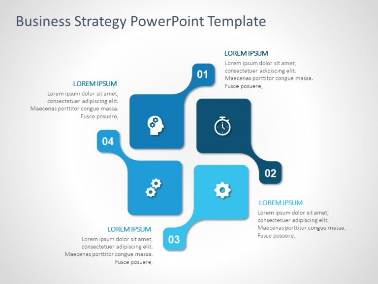 Business Strategy PowerPoint Template 27