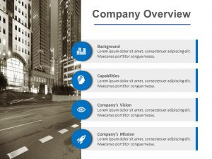 Company Overview PowerPoint Template 1