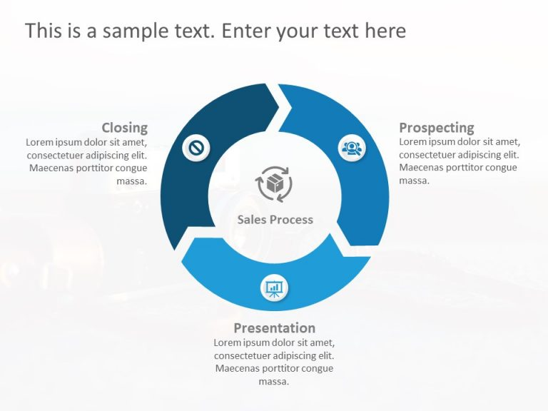 3 Steps PowerPoint Template 2