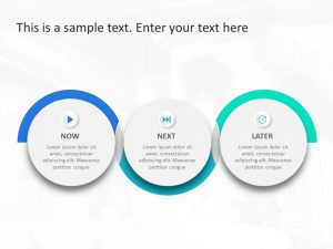 Now Next And Later PowerPoint Template