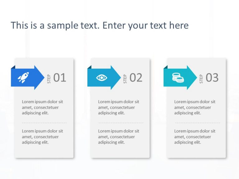3 Steps PowerPoint Template 10