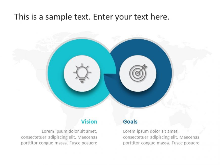 2 Steps Business PowerPoint Template 9