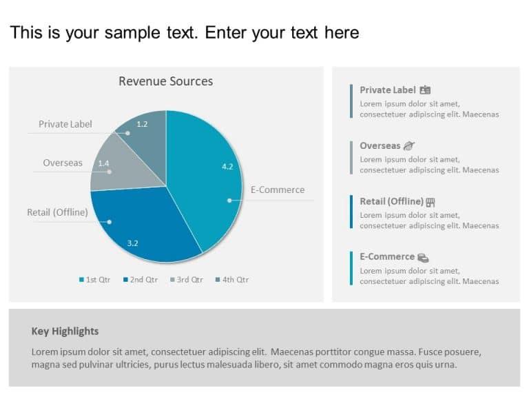 Revenue Sources PowerPoint Template