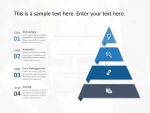 Segmented Triangle Strategy PowerPoint Template
