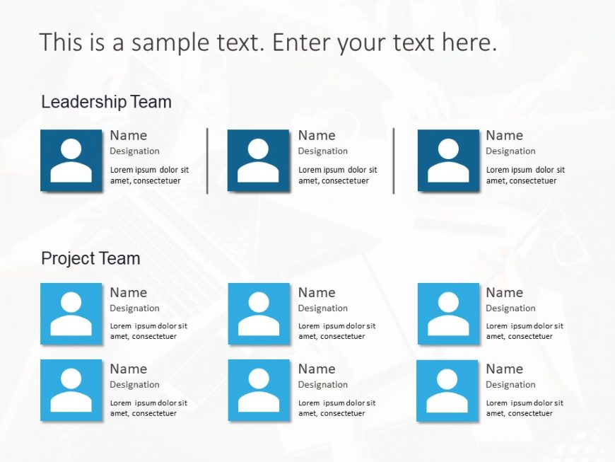 Project Team Powerpoint Template 2