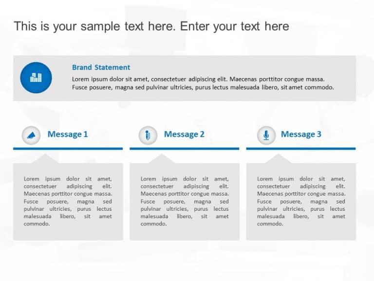 Brand Communication Brief Powerpoint Template
