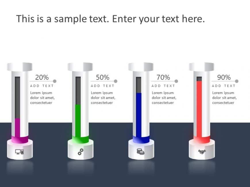 3D Bar Chart PowerPoint