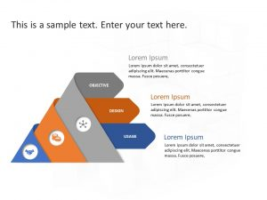 Triangle Business Steps PowerPoint