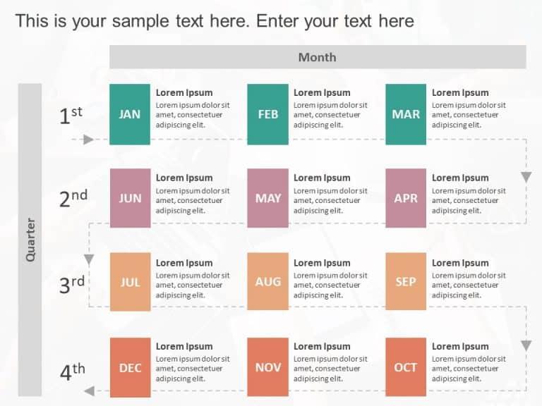 Quarterly Timeline Template Detailed Timeline Powerpoint Templates Slideuplift