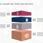 Animated Box Strategy PowerPoint