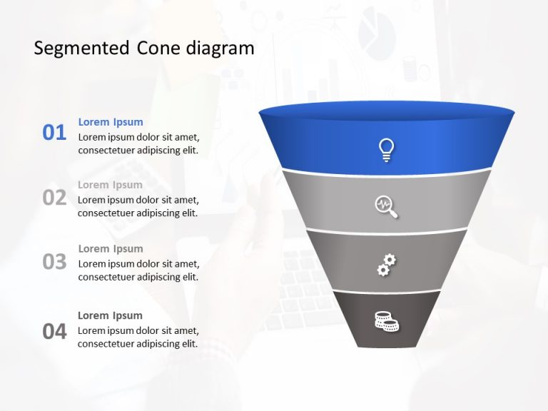 Segmented Cone Diagram