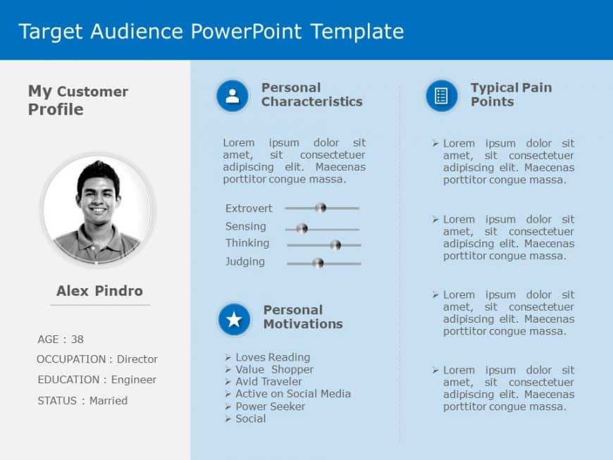 Target Audience Behaviour PowerPoint Template 2