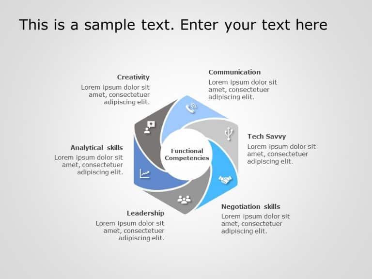 Hexagon PowerPoint Template 1