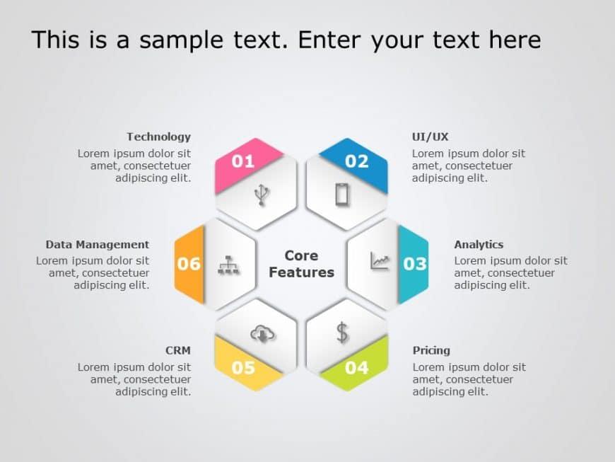 Hexagon PowerPoint Template 10
