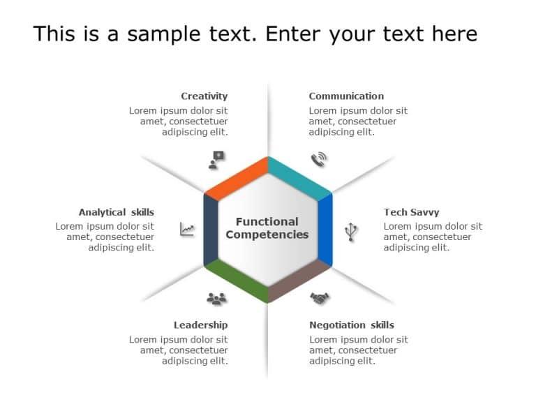 Hexagon PowerPoint Template 13